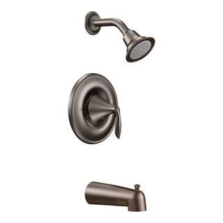 Moen Eva Oil-rubbed Bronze Posi-Temp Tub/ Shower Kit