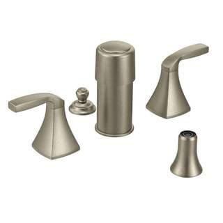 Moen Voss Brushed Nickel Two-Handle Bidet Faucet