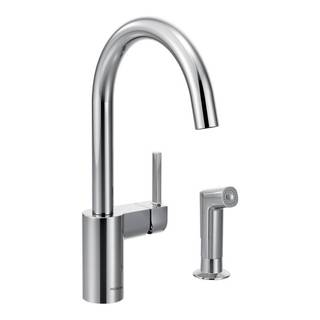 Moen Align Chrome One-Handle High Arc Kitchen Faucet