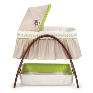 Summer Infant Motion Bassinet in Bentwood