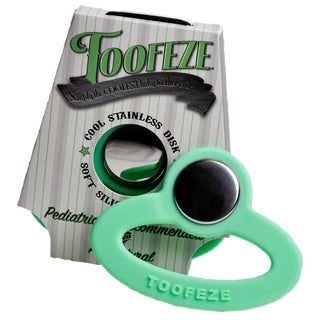 Toofeze Baby Teether in Green
