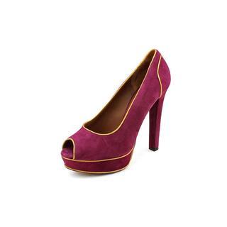 Donald J Pliner Women's 'Blair-0210' Regular Suede Dress Shoes
