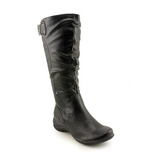 Hush Puppies Women's 'Alternative 18BT Wide Calf' Leather Boots