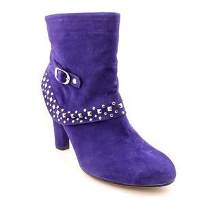 Ros Hommerson Women's 'Starlite' Regular Suede Boots - Extra Wide