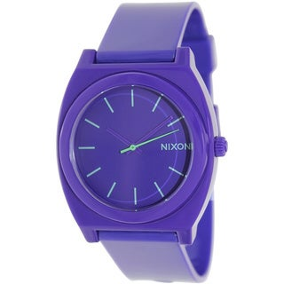 Nixon Women's A119230 Time Teller Purple Plastic Quartz Watch with Purple Dial