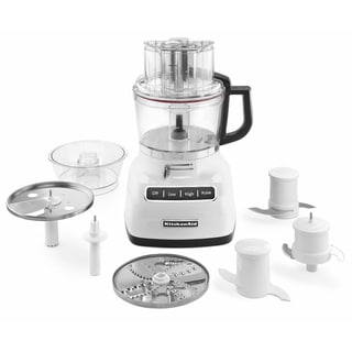 KitchenAid KFP0933WH White 9-cup Food Processor with ExactSlice System