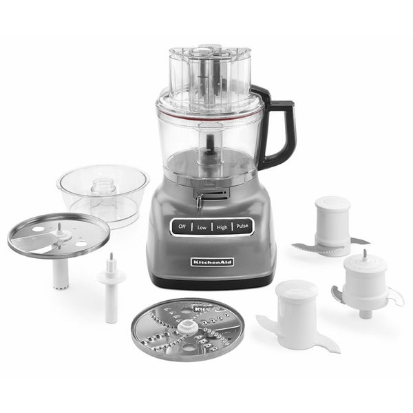 KitchenAid KFP0933CU 9 Cup Food Processor with ExactSlice™ System | BrandsMart U