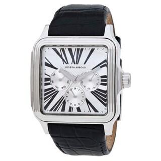 Joseph Abboud Men's Square Dial Black Watch