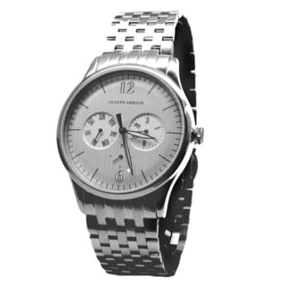 Joseph Abboud Men's Stainless Steel Bracelet Multifunction Watch