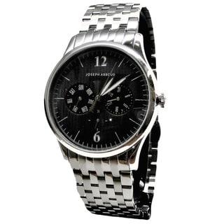 Joseph Abboud Men's Stainless Steel Bracelet Multifunction Watch
