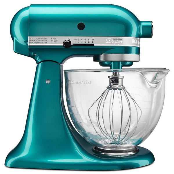 KitchenAid KSM155GBSA Sea Glass 5-quart Artisan Design Tilt-head Stand Mixer