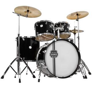 Mapex Voyager Rock 5-piece Black Drum Set