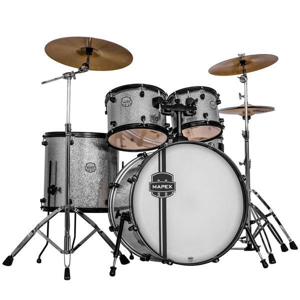 Mapex Voyager Rock 5-piece Crystal Sparkle Drum Set