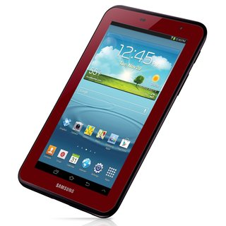 Samsung Galaxy Tab 3 7-inch 1.2GHz 8GB Android 4.1 Garnet Red Tablet with Case (Refurbished)