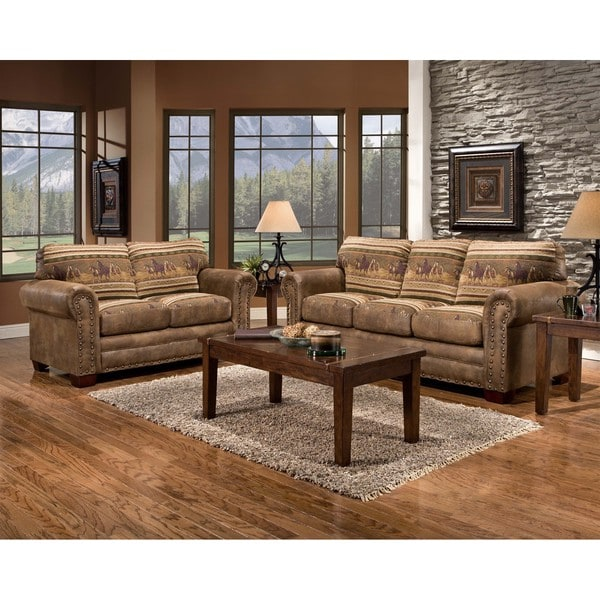 Wild Horses Lodge Loveseat