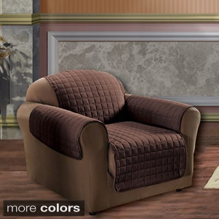 Microfiber Quilted Stitch Water-repellent Chair Cover
