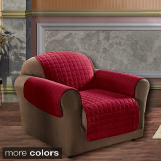 Microfiber Quilted Stitch Water-repellent Loveseat Cover