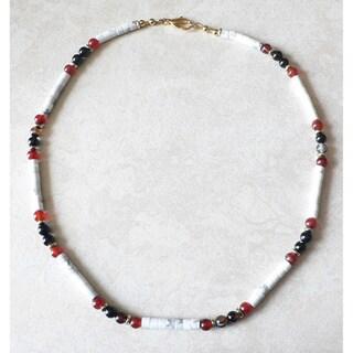 Palmtree Gems 'Annapurna' Men's Gemstone Necklace