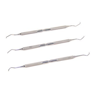 Defender 3-piece Gracey Curette Stainless Steel Set