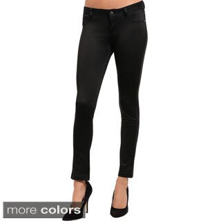 Shop The Trends Slim Leg Stretch Knit Pants