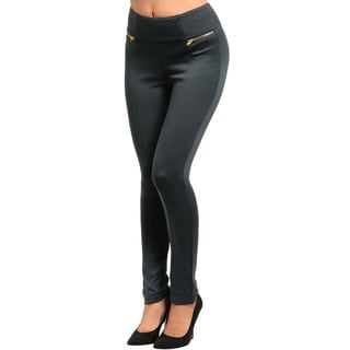 Shop The Trends Zipper Front High-waist Legging