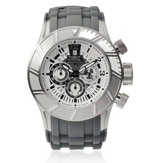 Invicta Men's Stainless Steel 'Pro Diver' Chronograph Watch
