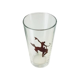 Cowboy Living Bronc Rider Tall 16-ounce Glass (6-piece Set)