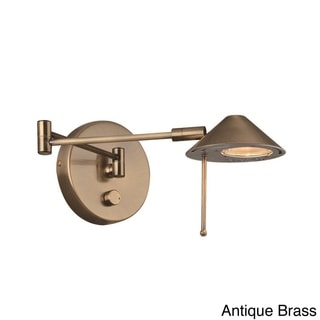 Lite Source Rhine Single-light Wall Sconce