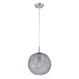 Lite Source 1-light Chrome Pendant