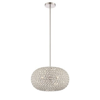 Lite Source Orsino 3-light Chrome Pendant