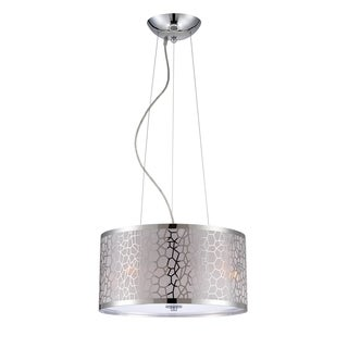 Lite Source Kyra 3-light Chrome Pendant