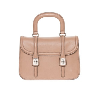 Miu Miu Madras Textured-leather Shoulder Handbag