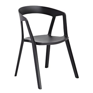 American Atelier Living Black Roslyn Chair