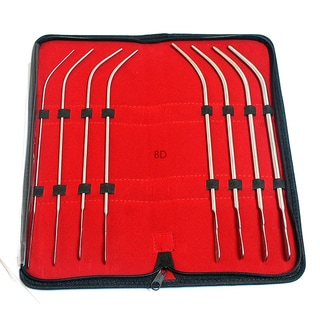 Van Buren Sound Urethral Surgical Instruments (Set of 8)