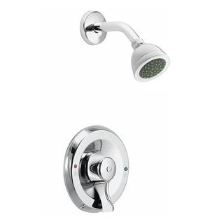 Moen Commercial Chrome Posi-Temp Tub / Shower Faucet Set