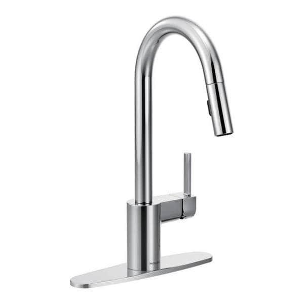 Moen Align Chrome One Handle High Arc Pull Down Kitchen Faucet 16398626