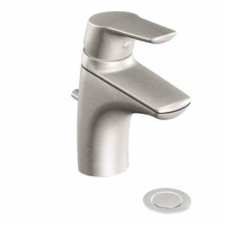 Moen Method Brushed Nickel One-handle Low Arc Bathroom Faucet