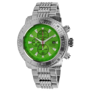 Android Men's 'Silverjet 55 Chrono' Green Watch