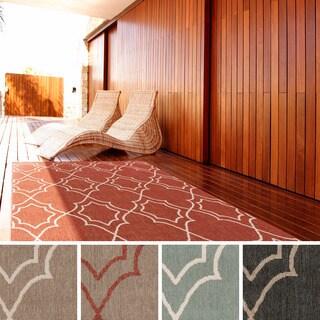Meticulously Woven Natasha Contemporary Trellis Indoor/Outdoor Area Rug (2'3 x 4'6)