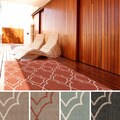 Meticulously Woven Natasha Contemporary Trellis Indoor/Outdoor Area Rug (3'6 x 5'6)