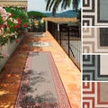 Meticulously Woven Annette Contemporary Bordered Indoor/Outdoor Area Rug (2'3 x 11'9)