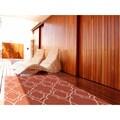 Meticulously Woven Natasha Contemporary Trellis Indoor/Outdoor Area Rug (5'3 x 7'6)