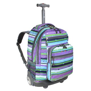 J World New York Melody Sundance Rolling 15-inch Laptop Backpack