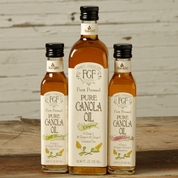 Family Generation Foods All-natural Canola Oil Trio (Pack of 3)