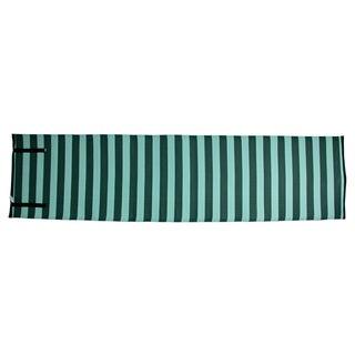 Homesuite Outdoor Evergreen Stripe Runner Rug (2' x 8')