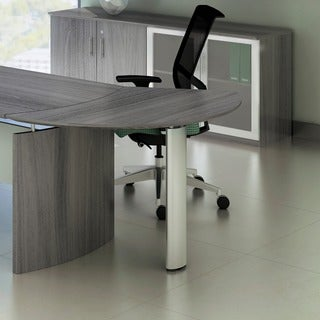 Mayline Medina Left Curved Desk Extension