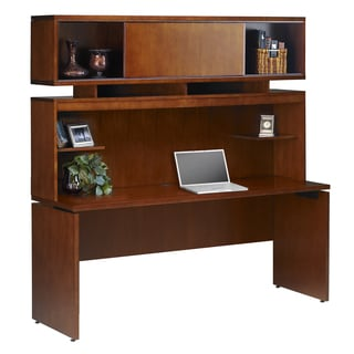 Mayline Stella Credenza/ Hutch Combination