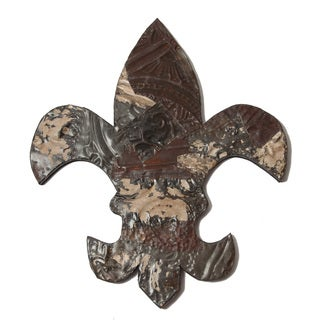 Ozark Folk Art Antique Tin Fleur-de-lis Symbol