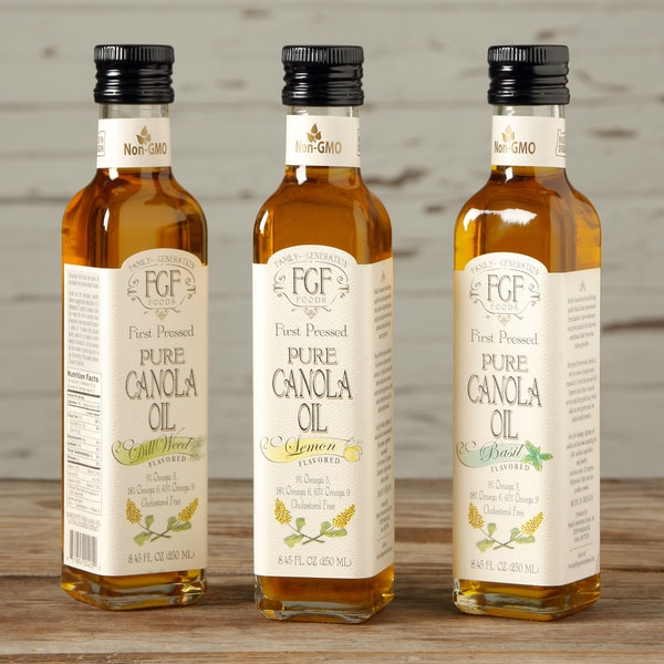 Family Generation Foods All-natural Canola Oil Sampler (Pack of 3)