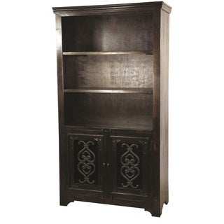 Mirage Hand-crafteed Bookcase with Two Doors